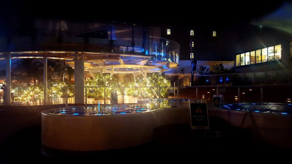 サンシャイン水族館夜