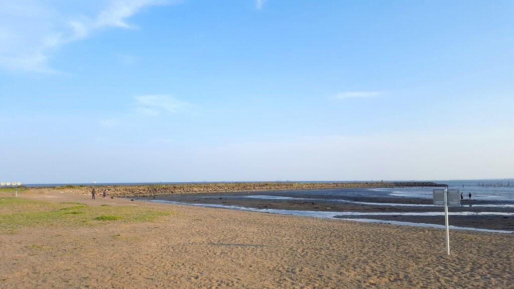 葛西臨海公園浜辺