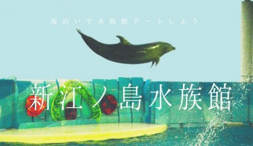 海沿いで水族館デート!新江ノ島水族館まとめ